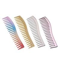 Escovas de cabelo Anti-estática larga plástico Detangling pente, confortável para massagear seu couro cabeludo, salão de beleza, estilo, cuidado