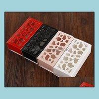 Cajas Embalaje Oficina Escuela Negocio IndustrialWedding Corta Hollow Chocolate Aroon Galleta Embalaje para Pastel, Aroon, Der Caja de Regalo 13 * 6 * 4 C