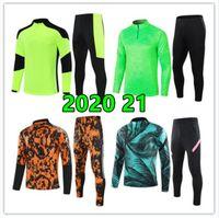 2021 22 Мужская футбольная куртка тренировочный костюм футбольные комплекты Размер S M L XL XXL Cousssuit Костюмы Комплекты