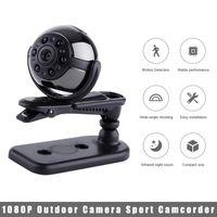 Mini Cameras 1080P Outdoor Camera Sport Camcorder Night Vision Wide-angle Detection Monitor WiFi Webcam Home Surveillance Car Recorder