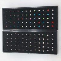 في منتصف العام، عززنا كثيرا 60 قطعة من 1.5 2 / 2.5 ملليمتر مستقيم الأنف مسمار الجسم ثقب المجوهرات
