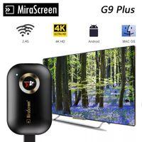 4K TV عصا 2.4 جرام G9 اللاسلكية dlna airplay hdmi -comeibatible wifi عرض مرآة شاشة استقبال google الرئيسية netflix لالروبوت