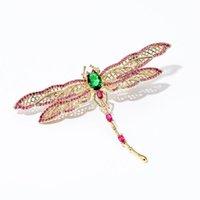 Épingles, broches magnifiques libellule creuse pour femmes mode mignon insecte avec broche perle Broche Banquet de mariée Bijoux Bijoux cadeau de Noël