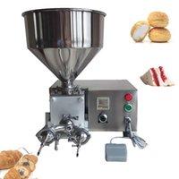 PRECIO AL POR MAYOR AUTOMÁTICO DELUXE CHURRO Llenado de relleno Mermelada de chocolate y crema usada para pan / pastel / Fabricación de la máquina