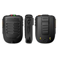 Walkie Talkie Uniwa BM001 Zello Handheld Sans fil Bluetooth Phaltooth Microphone Pour Alpes F40 F22 + Téléphone mobile F25 Bouton SOS SOS
