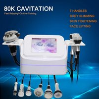 Cleaning Cavitation Ultrasonic Fat Burning Cellulite Removal 80K Vacuum Body Massage Blasting Multi-function Machine