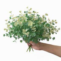 Dekorative Blumen Kränze 1 Stück Künstliche Pflanze Gefälschte Blume Farn Home Decoration Green Bündel Spargel Holiday Party