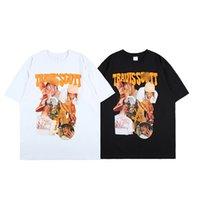 Nagri Mens t Shirt Travis Scott Streetwear Hip Hop T-shirts Astroworld Cactus Short Sleeve Cottont-shirt Casual Harajuku Tee