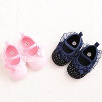 First Walkers Baby Girls Shoes Lace Flower Toddler Infants Kid Princess Size 1 2 3