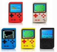 Jeux portables Console Console Tetris Handheld LCD Screen Jouets Electronic Toys Pocket