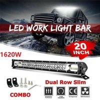 Arbeitslicht 20-Zoll-Zoll-Tri-Ruder-LED-Arbeitsstange 1620W Flood Spot Combo Offroad-Fahrlampe