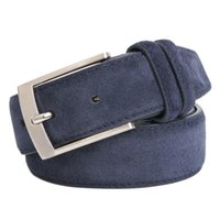 Belts Style Fashion Brand Welour Genuine Leather Belt For Jeans Men Mens Luxury Suede Straps