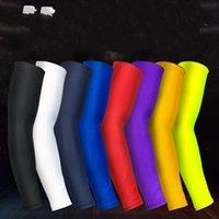 1 قطع ضغط كرة السلة الأكمام غطاء قفازات رياضية تشغيل تدفئة ركوب الدراجات حماة حراسة السلامة 171 X2