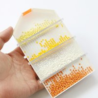 Sewing Notions & Tools DIY Handmade Craft Diamond Painting Accessories Cross Stitch Point Drill Storage Tray Decoration