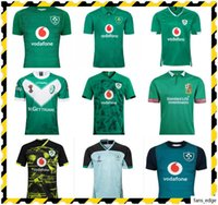 Top Neue 2019 2020 2021 Neue Irland Rugby-Jerseys T-shirts Home Away Rugby League Jersey 20 21 Shirts S-5XL