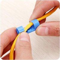 Cabo de cabo fixo clipe linha de dados de fixação de fixação Linha de sub-rede linhas de linhas de gota gota clipes fixador portador organizador dwb8512