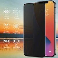 Pellicola proteggi schermo in vetro temperato anti-peeping per Apple iPhone 12 11 Pro Max XR XS X 8 7 Plus 6 6S SE 2021