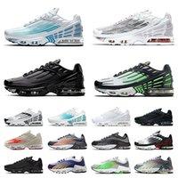 Nike Air Max Tn Plus 3 Tuned Airmax Retro 2 أحذية رياضية رياضية للجري مقاس كبير لنا 12 شبكة تنس سوداء بالكامل أبيض أخضر أحمر أزرق رجال نساء أحذية رياضية خارجية  أحذية