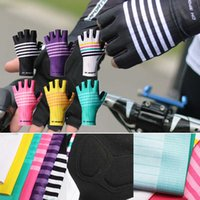 Hot Cycling Gloves Half Finger Design Comfortable Sweat Absorption Non Slip Breathable for Men Women Outdoor Sport JRDH889 Y0910