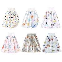 Pantaloncini per griffe per pannolini per bambini comodi 2 in 1 lavabile in cotone vasino pernottamento pantalone pannolino 97BE