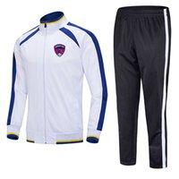 Clermont Ayak 2021 Ceket Futbol Eğitimi Takım Orta Uzunlukta Herhangi Bir Desen Ekibi için Özelleştirilebilir Erkekler Spor Koşu Takım Elbise Eğitim Takım Elbise