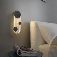 Wall Lamps Modern LED Light For Bedroom Bedside Sconce Reading Study Indoor Lighting Lamp Decor AC85-260V Fixtures