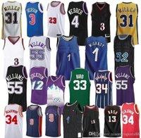 NCAA 2020 TRAE 11 Mens Jersey Mesh 23 Michael Scottie 33 Pippen Jersey Dennis 91 Rodma Jerseys MJ 1996 Bull