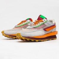 Clots LDV Waffle Daybreak Spor Ayakkabı Erkekler için Koşu Ayakkabıları Erkek Örgü Sneakers Kadın Sneaker Bayan Eğitmen Atletik Chaussures Spor Adam Eğitmen DH1347-100