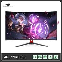 "GISH 27 Zoll gebogener LCD-Monitor Gaming Game-Wettbewerb 27 ""LED-Computeranzeige-Bildschirm Full HDD-Eingang 1ms-Antwort / VGA"