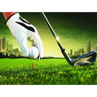 landscape golf 5D square Diy Diamond Painting kit Full drill Cross-Stitch Mosaic Rhinestone diamond Embroidery sport decor