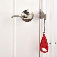 المحمولة قفل السلامة كيد آمنة الأمن الباب قفل فندق المزالج المحمولة مكافحة سرقة الأقفال أدوات المنزل EWA4147