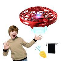 Pickwoo P10 manos libres Mini Drone Helicopter Mini OVNE DRONE con luces LED Simple Interior Al aire libre esférico para niños
