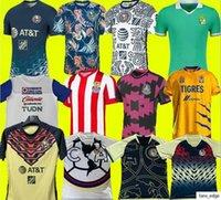 حجم S-4XL Liga MX 21 22 Club America Soccer Jerseys Leon الثالث 2021 2022 المكسيك Léon Tijuana Tigres Unam Chivas Guadalajara Cruz Azul