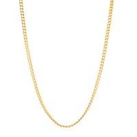 24К настоящий сплошной чистый золотой кубинское обузное ожерелье