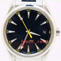 En Kaliteli Erkekler Gaus 15700 Mens Lüksİzle Spor VVSFactory Otomatik Saatler Hareketi Mekanik Kauçuk 150m James Bond 007 Çelik Skyfall Saatı