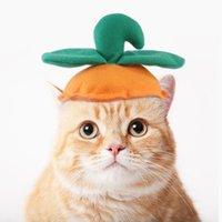 US STOCK Cat Halloween Pumpkin Hat Kitty Cosplay Costume Dog Cap Puppy Cute Funny Hats Pets Caps