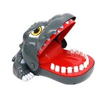 Веселая игрушка рот стоматолог укусить пальцы тянуть крокодил зубы бесплатные DHL / UPS