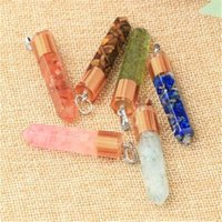 Chokers Carnelian Necklace Healing Crystal Points Stone Pendant For Men Women Hexagonal Faceted Unisex