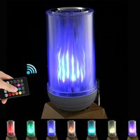 LED Light Bulbs Wireless Bluetooth Dimmable Lamp Bulb Speaker, E27 RGB Multicolor Changing Music Smart Switch