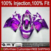 Iniezione del corpo per Honda Blackbird CBR 1100 1100XX CBR1100 XX 96 97 98 99 00 01 26NO.140 CBR1100XX Hot Purple 2002 2003 2004 2005 2006 2007 CBR 1100CC 96-07 carents