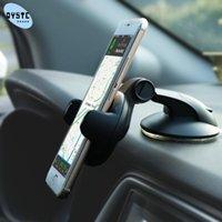 Porte-téléphone portable Supports de voitures mobiles universelles pour le support de pare-brise Support Smartphone Voiture Sujet Porta Celular