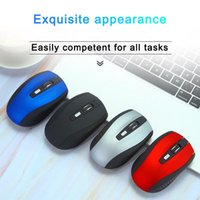 Mouse Wireless Gaming Mouse 2.4G 2.4GHz Adaptador USB Home Office para PC Laptop