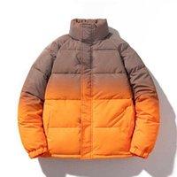 Men's Down & Parkas Winter Snow Waterproof Coats Cold Jacket Men Padded Bubble Coat Fashion Harajuku Streetwear Reflective Clothes Tops Male