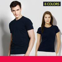 2021 Cotton Sports Small Horse Crocodile Embroidery T Shirt Casual Short-Sleeve Running Undershirt Gym Fitness Jogger