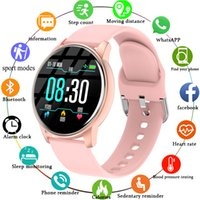 Women Smart Watches Real-time Weather Forecast Activity Tracker Heart Rate Monitor Sports Ladies Watch Men For Android IOS