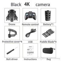 KK8 4k HD WiFi FPV Faltbare Mini Drohne Spielzeug, Foto von Gesture, Flugzeugflug, Schönheitsfilter, Höhenhold, 360 ° Flip-Quadkopter, 3-3