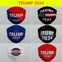Trump 2024 Wiederverwendbare waschbare Gesichtsmaske Vliesstoff staubdichte trübbare atmungsaktive Masken