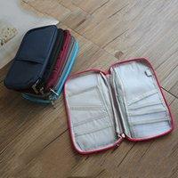 Home Sundry Storage Многофункциональная карта сумка мода портативный проездной паспорт кредитной карты кошелек оптом
