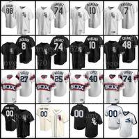 Chicago 74 Eloy Jimenez blanc Jersey Sox 16 Liam Hendriks 8 Bo Jackson 10 Yoan Moncada Luis Robert Baseball Jose Abruu Tim Anderson Jersey Aaron Bummer Adam Eaton comme