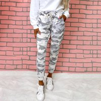 Women's Pants & Capris Camouflage Joggers Women Sweatpants Harem Camo Drawstring Pantalones Femme Mujer Female High Waist Pocket Tight
